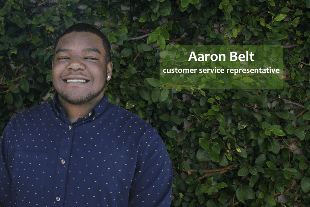 Aaron Belt Customer Service Representative BuWit House Academy
